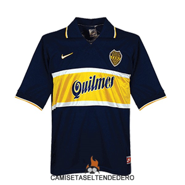 camiseta boca junior retro primera 1996-1997