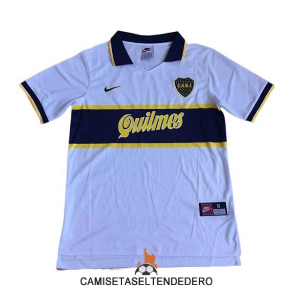 camiseta boca juniors retro segunda 1997