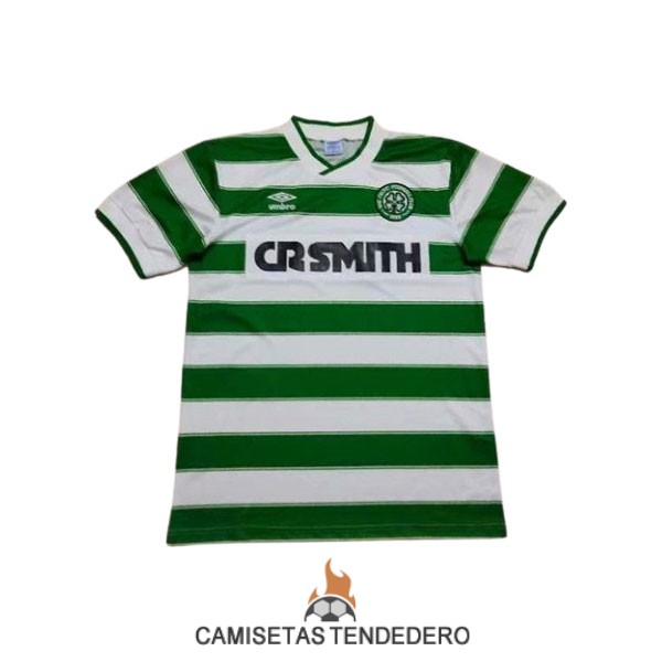 camiseta celtic retro primera 1985-1987