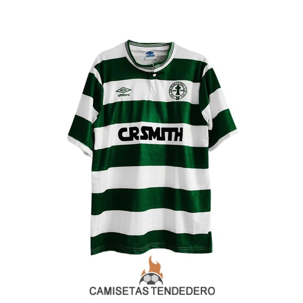 camiseta celtic retro primera 1987-1989