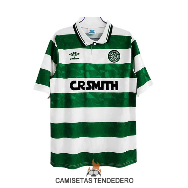camiseta celtic retro primera 1989-1991