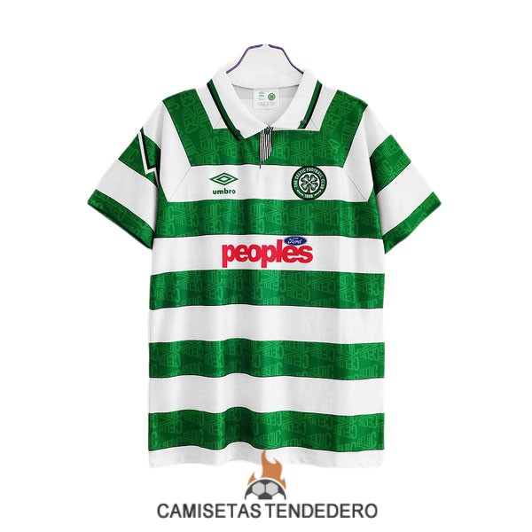 camiseta celtic retro primera 1991-1992
