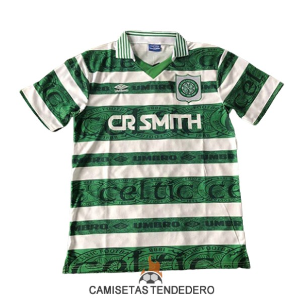 camiseta celtic retro primera 1995-1997