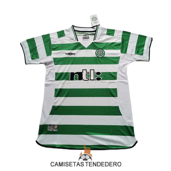 camiseta celtic retro primera 2001-2003