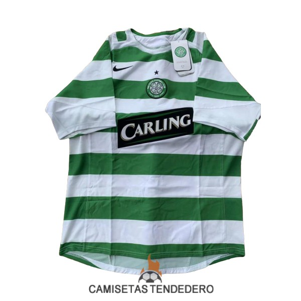 camiseta celtic retro primera 2005-2007