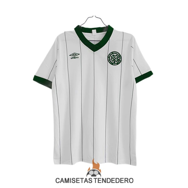 camiseta celtic retro segunda 1982-1983