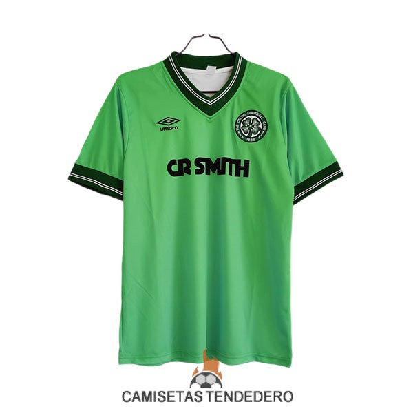 camiseta celtic retro segunda 1984-1986
