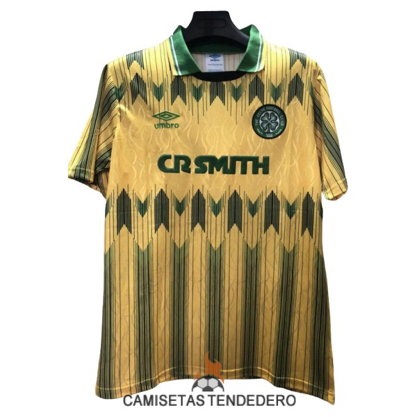 camiseta celtic retro segunda 1989-1991